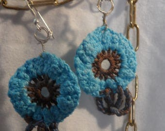 Crochet Earrings Artisan Production