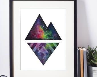 Mountain Galaxy