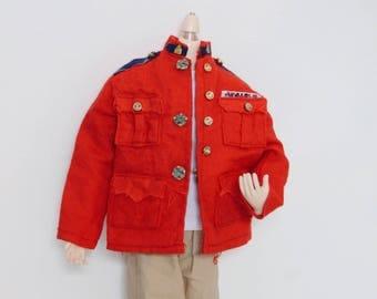 Red Jacket Taeyang Doll 1/6 vintage clothing
