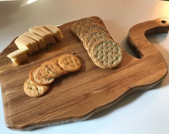 Abstract Serving Tray and Cutting Board