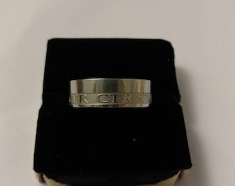 CTR Engraved Ring