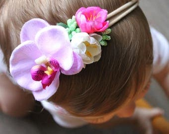 Baby Flower Crown - Photo Prop