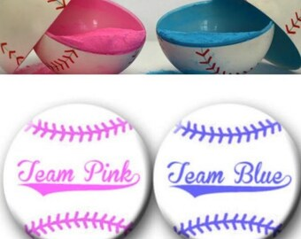 Gender Reveal Baseballs