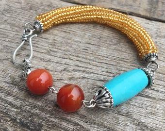 Sedolic torquise bracelet