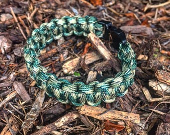 Camo Standard Paracord Clad Bracelet