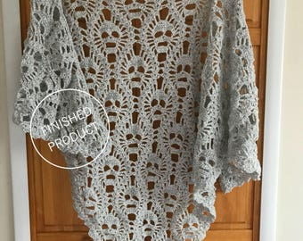 Lost Souls Shawl  •finished product•