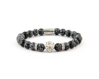 Lion bracelet, bracelet, bracelet, Lion, snowflake