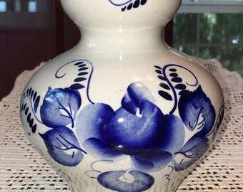 Gzhel Flower Vase