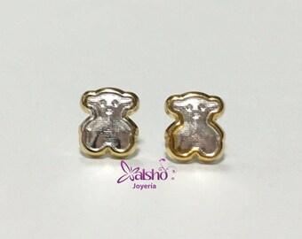 Stud Earrings of bear