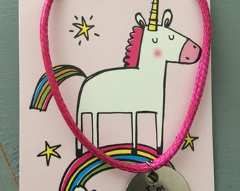 I'm really a Unicorn and I love Yoga reversible necklace