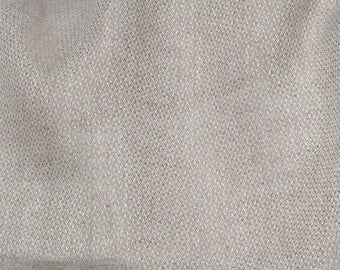 Linen fabric, washed linen, 200 gsm. Natural gray color. Linen fabric by the meters, linen by the yard