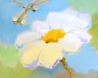 Pavel Guzenko - Flower and dragonfly