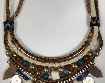 New necklace hand made India boho