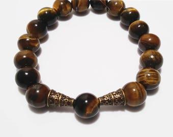 Tribal Stone Beaded Bracelet