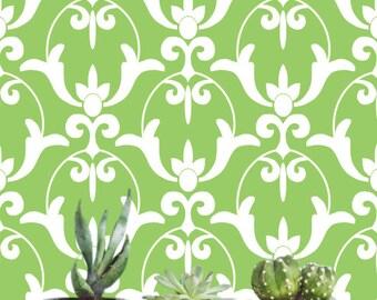 Removable wallpaper/Wallpaper/Peel and Stick/Self adhesive wallpaper/Temporary wallpaper /Modern Wallpaper /Greenery wallpaper S152