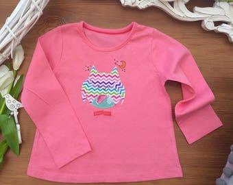 Girl's Owl Tshirt