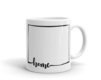Wyoming Home State - Coffee Mug