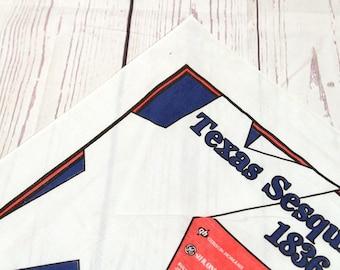 Vintage Texas sesquicential bandana