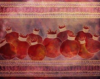 Pomegranates - רימונים