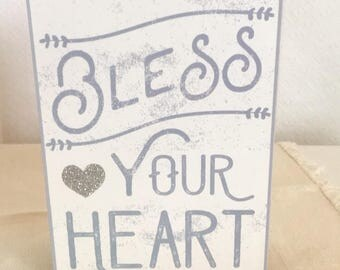 Bless Your Heart Vintage Inspired Decor