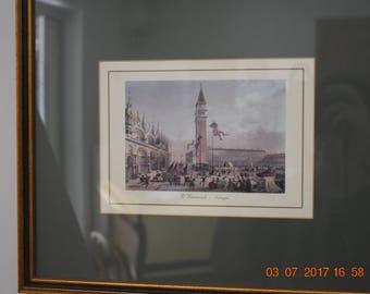 Framed print of carnival- Venise
