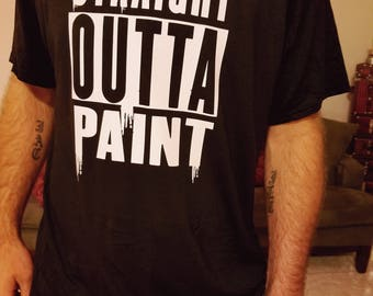 Painter Shirt/Straight Outta Paint