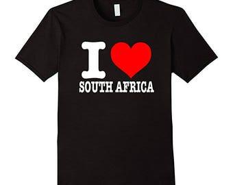I Love South Africa T-Shirt - I Heart South Africa Shirt