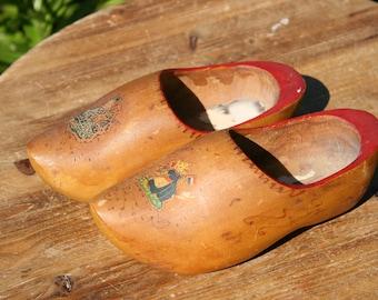 Dutch Clogs / Wooden Shoes / Dutch Icon / Wanderlust