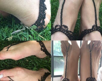 Barefoot Sandals, FREE SHIPPING!, Hippie Sandals, Beach shoes