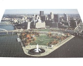 Pittsburgh Puzzle 1000 Piece Adult Jigsaw Puzzle (No Box!) 1990s Point State Park Great American Puzzle Factory Pittsburgh PA Pennsylvania