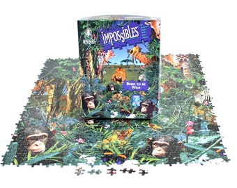Bepuzzled Impossibles Born to be Wild Jigsaw Puzzle 750 Pieces, Tested Complete