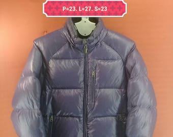 Vintage Johnbull Kojima Down Jacket Windbreaker Ski Wear Outdoor Puffer Purple Colour Size M Winter Down Phenix Ski Jackept