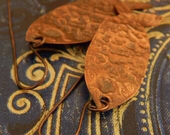 Copper Earrings, Handmade with Spirit & Love
