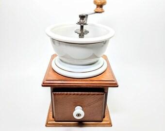 Vintage Teleflora Coffee Grinder