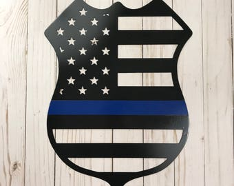 Thin Blue Line Badge