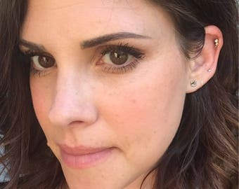 Huggie hoop earrings,stering silver hoop earring huggie earrings, gold huggie hoops