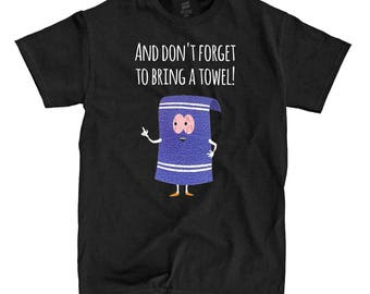 South Park - Towelie - Black Shirt - Ships Fast! High Quality!