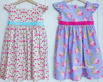 767 Adalyn Dress (6 - 24 Months) PDF Pattern