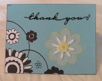 Homamade Thank You Greeting Cards