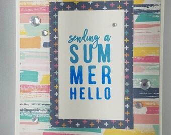 Sparkly  Summer Hello