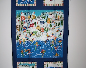 Good Season Winter Panel With Coordinating Fabric