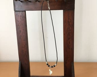 Door wooden necklaces