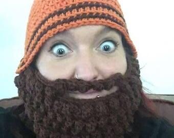 Crochet Lumberjack Beard & Hat