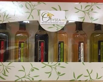 Olive Oils and Vinegars Gift Set 6/60ML Bottles