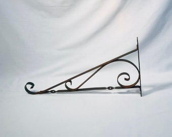 Vintage wrought iron sign bracket