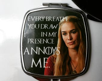 Game of Thrones Cersei Compact Mirror
