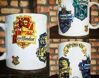 Harry Potter Hogwarts School House Crests