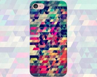 Geometric phone case iPhone 7 7 Plus 6 6s 6 plus 5 5s 5se 4 Samsung galaxy case s7 edge s7 s6 s5 s4 s3 print cover art geometry art texture