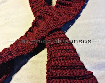 Child's Crochet Scarf