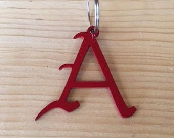 """Letter """"A"""" Key Chain"""